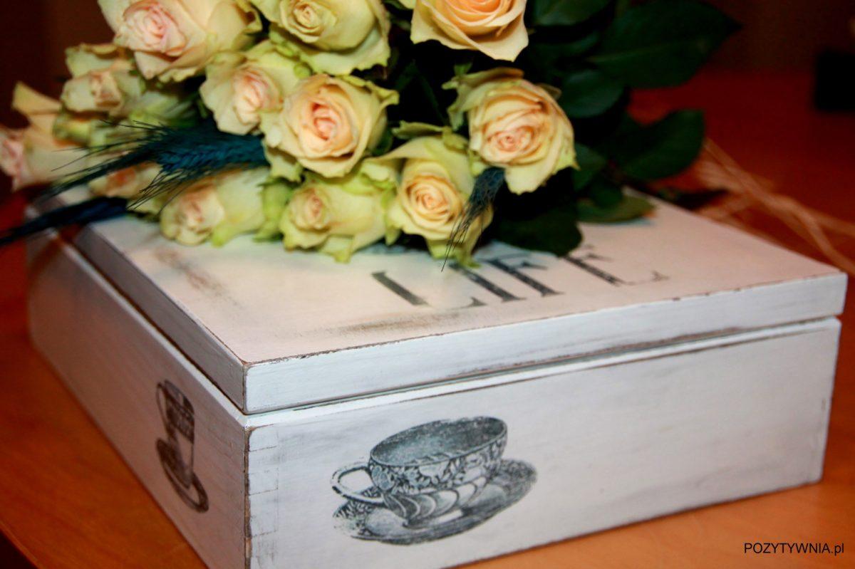 Prezenty – pudełko dla Taty uzależnionego od herbaty