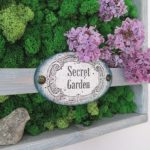 Tajemniczy ogród na ścianie, czyli cz. 5 cyklu o recyklingu palet