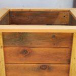 Drewniana donica, czyli cz. 14 recyklingu palet