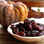 Śliwki karmelizowane w occie i produkt uboczny.