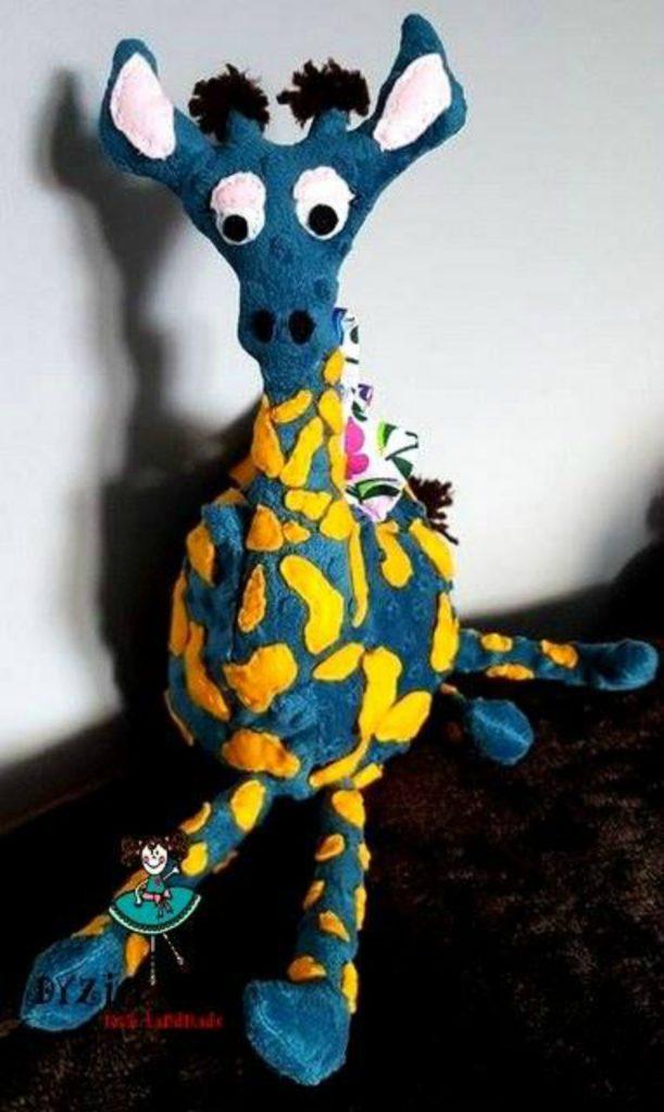Żyrafka torba dla małej Zuzi - Źródło Hand Made Dyzia Lok