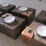 Drewniane świeczniki z rusztu, czyli cz. 10 recyklingu palet