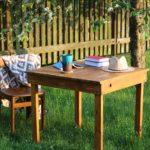 Stół ogrodowy, czyli cz. 13 recyklingu palet