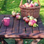 Stół w stylu farmhouse
