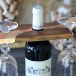 Nosidło na kieliszki do wina, czyli cz. 16 recyklingu palet
