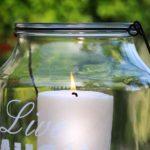 Świeca wolnostojąca DIY z wosku rzepakowego, odstraszająca komary