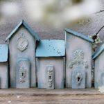 Drewniane mini domki